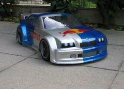 Delta Plastik 0137 BMW M3 1/8 Scale RC Car Body Clear Hobao