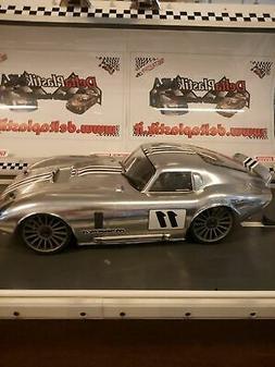 0180 Shelby Cobra Daytona 1/8 scale RC Car Body Clear Traxxa