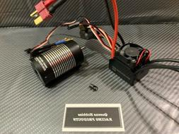 1/10 60A 3660 3500KV Brushless ESC Motor Combo Fits 1/10 RC