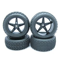 1/10 Scale Off Road Buggy RC 5 Spoke Wheels Rims and Tyres B