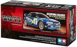 TAMIYA 1/10 Electric RC Car No. 631 Subaru Impreza Monte Car