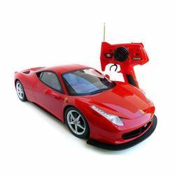 1:10 Licensed Ferrari 458 Italia RC Remote Control Battery V