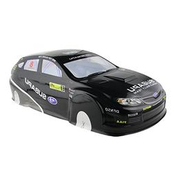 Coolplay 1/10 PVC On Road Drift Rally Subapu Sti X Car Body