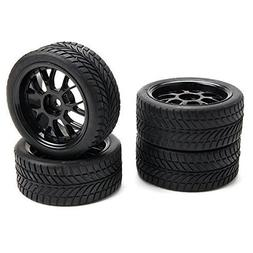 SkyQ 1:10 RC On-road Car Leaf Shape Rubber Tires and Plastic