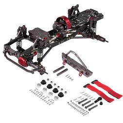 1/10 RC Car Frame Kit CNC Aluminum for AXIAL SCX10 RC Crawle