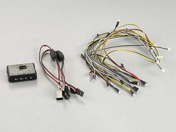 1/10 RC Car LED LIGHT SET w/ Control Box For LEXUS RCF Kille