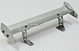 1/10 RC Car METAL WING SPOILER 1/10 DRIFT Touring Cars SILVE