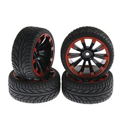 1/10 RC Tires Tyre & Wheels 3mm offset for HPI REDCAT HIMOTO