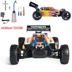 HSP 1:10 Scale RC Buggy Car 4wd Nitro Gas Power Remote Contr
