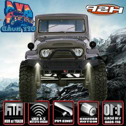 HSP 1/10 Scale RC Car 4wd Off Road Rock Truck Car Cruiser RC
