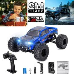 1:12 Electric RC Car Truck 4WD 25MPH Off-road Vehicle Kid Ch