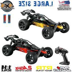 1:14 4WD RC Car Remote Control Truck High Speed Racing Car B