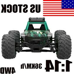 1:14 Scale 4WD RC Car Remote Control Monster Truck High Spee