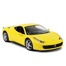 """12"""" 1:14 scale Ferrari 458 Italia Yellow R/C Radio Control C"""