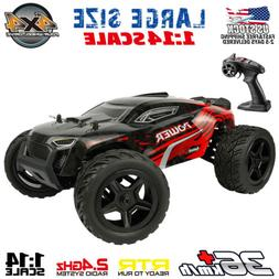 1:14 Scale RC Car 4WD Remote Control Monster Truck High Spee