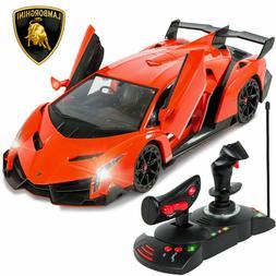 1-14 Scale RC Lamborghini Veneno Realistic Driving Car Toy G