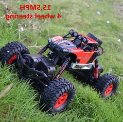 1/16 4 WD RC Car Rock Crawler Monster Truck  Waterproof Dese