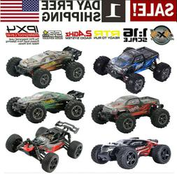 1/16 52km/h Racing RC Car 4WD Brushless Monster Truck Rally