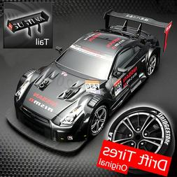 1:16 58km/h RC Drift Racing Car 4WD  2.4GHigh Speed GTR Remo
