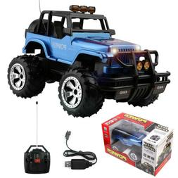 1/16 RC Car 2.4G Remote Control Jeep Off-Road Vehicle Light