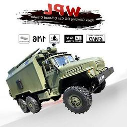 1:16 WPL RC CAR 6WD 2.4G Military Truck Command Remote Contr