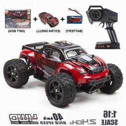 REMO 1/16 RC Monster Truck 4WD Off-Road 2.4Ghz Brushed Remot