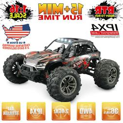 1:16 Scale 2.4Ghz 4WD RC Monster Truck Radio Remote Control