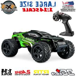 1:16 Scale 4WD Remote Control RC Car Truck High Speed Racing