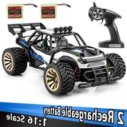 Distianert 1: 16 Scale Electric 2.4GHZ RC Car Off Road Vehic