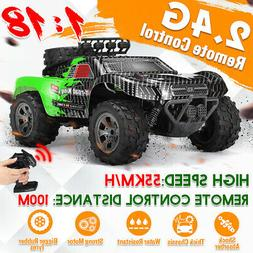 1:18 2.4G RC Car Monster Truck High Speed Remote Control Off