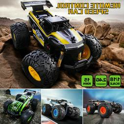 1:18 Kids RC Model Vehicles Off Road RC Car Monstertruck Big