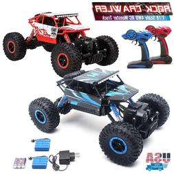 1/18 RC Monster Truck 4WD Off-Road Vehicle 2.4G Remote Contr