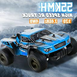 1:20 2.4G RC Racing Car 55km/h 4WD High Speed Radio  Remote
