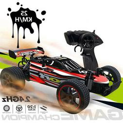 1:20 2.4G Remote Control Car 25km/h RC High Speed Racing Off