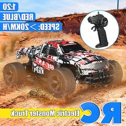1:20 25km/h Remote Control Car High Speed RC Electric Monste