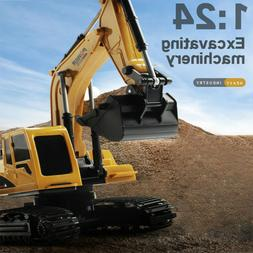 RC Car Truck Excavator 1/24 6CH 4WD Construction Vehicle All