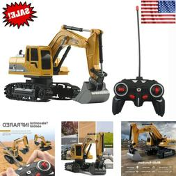 1/24 4WD Track Crawler Excavator Construction Vehicle Alloy