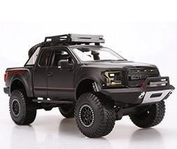 NEW 1:24 W/B MAISTO OFF-ROAD KINGS COLLECTION - BLACK 2017 F