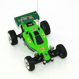 1:52 Remote Control Car Mini RC KART Racing BUGGY - Green Co