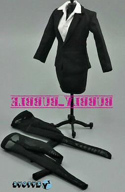 "1//6 Female Business Career Skirt Suits Set For 12/"" Hot Toys Phicen SHIP FROM USA"