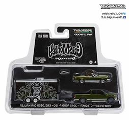 Greenlight 1:64 Hitch & Tow 1 Gas Monkey 2015 Ford F-150 & 1