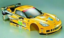 For 1/7 Traxxas XO-1 RC Car BODY Shell CHEVY CORVETTE GT2 w/