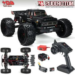 ARRMA 1/8 NOTORIOUS 6S BLX 4WD Brushless Stunt Truck RTR Bla