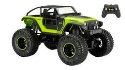 New Bright 60849G 1:8 Radio Control 4x4 Jeep Trailcat