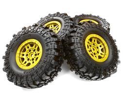 1.9 Composite Beadlock Wheels Scale Rock Crawler Axial Wrait