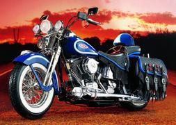 Franklin Mint 1/10 1999 Harley-Davidson Heritage Springer