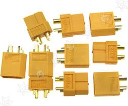 10 Pairs XT60 Connectors Plugs For RC Battery Motor Mould Dr