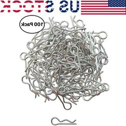 100pcs RC Car Body Shell Clips Pins for Traxxas & All 1/10th