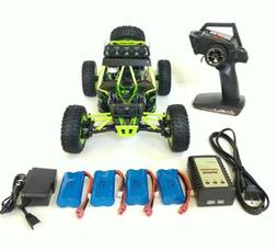 WLtoys 12428, 2.4GHz, 4WD, 4batteries, 2chargers, RC Off-roa