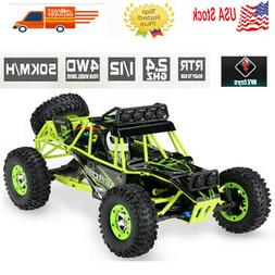 Wltoys 12428 1/12 RC Car 2.4G 4WD 50km/h 540 Brushed Crawler